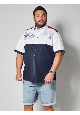 Men Plus by HAPPYsize Kurzarmhemd mit Kentkragen kaufen