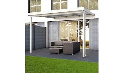 GUTTA Terrassendach »Premium«, BxT: 309x306 cm, Dach Sicherheitsglas klar kaufen