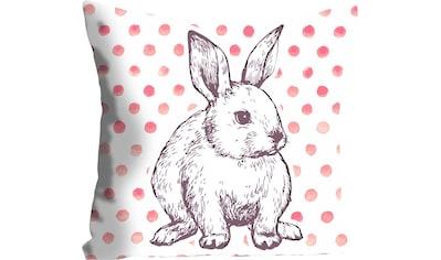 queence Kissenhülle »Maélys«, (1 St.), mit einem Hasen mit Punkten kaufen