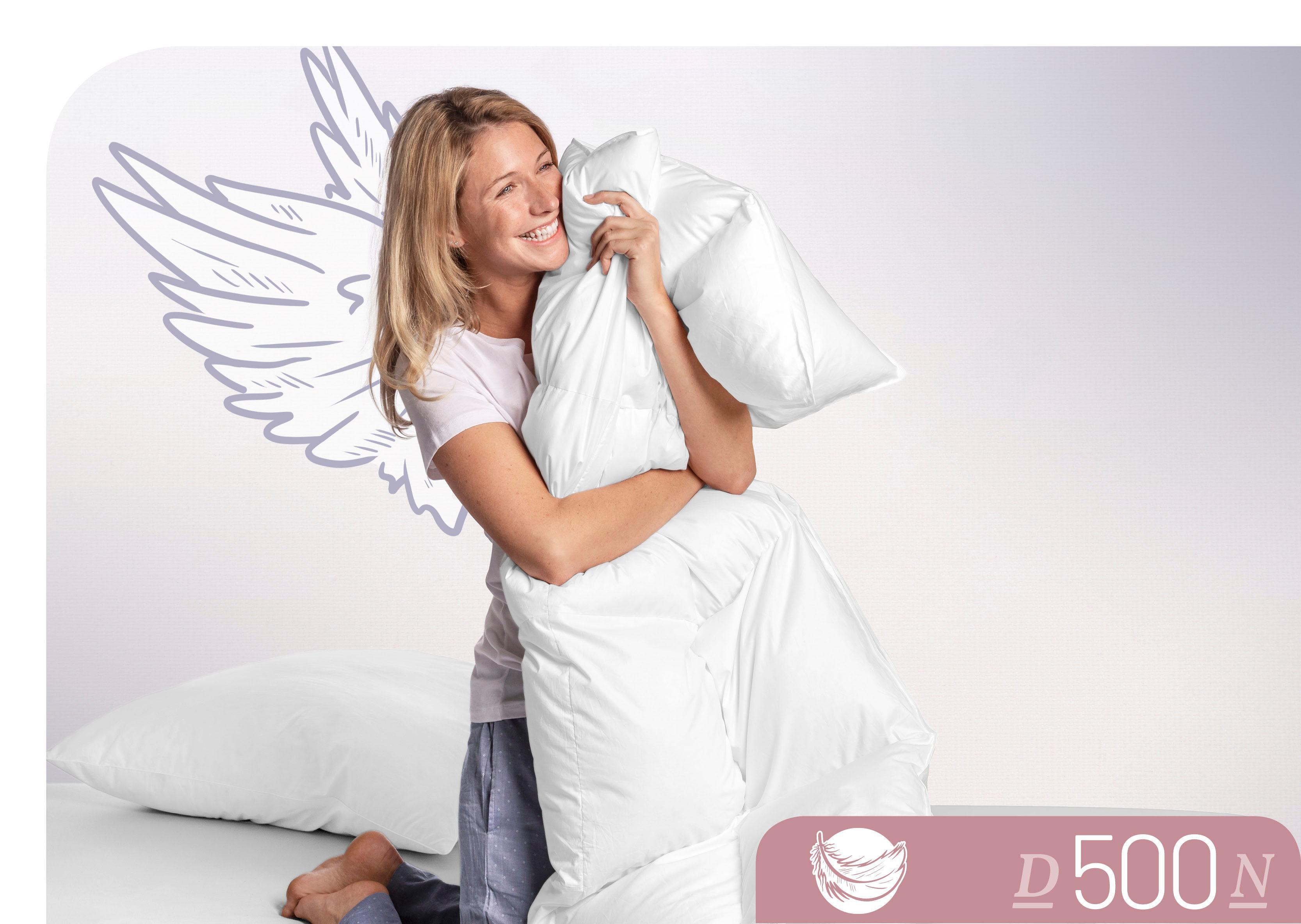 Daunenbettdecke D500 Schlafstil normal Füllung: 100% Daunen Bezug: 100% Baumwolle