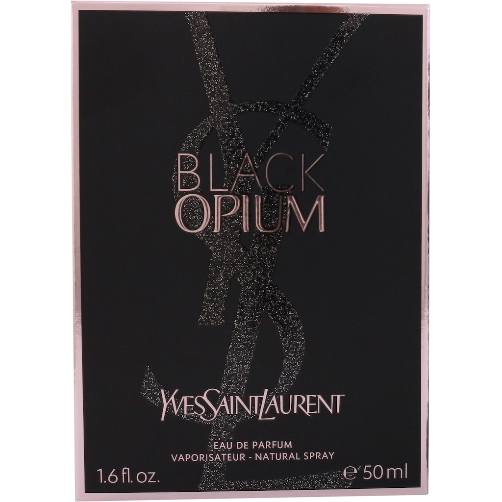 YVES SAINT LAURENT Eau de Parfum »Black Opium«