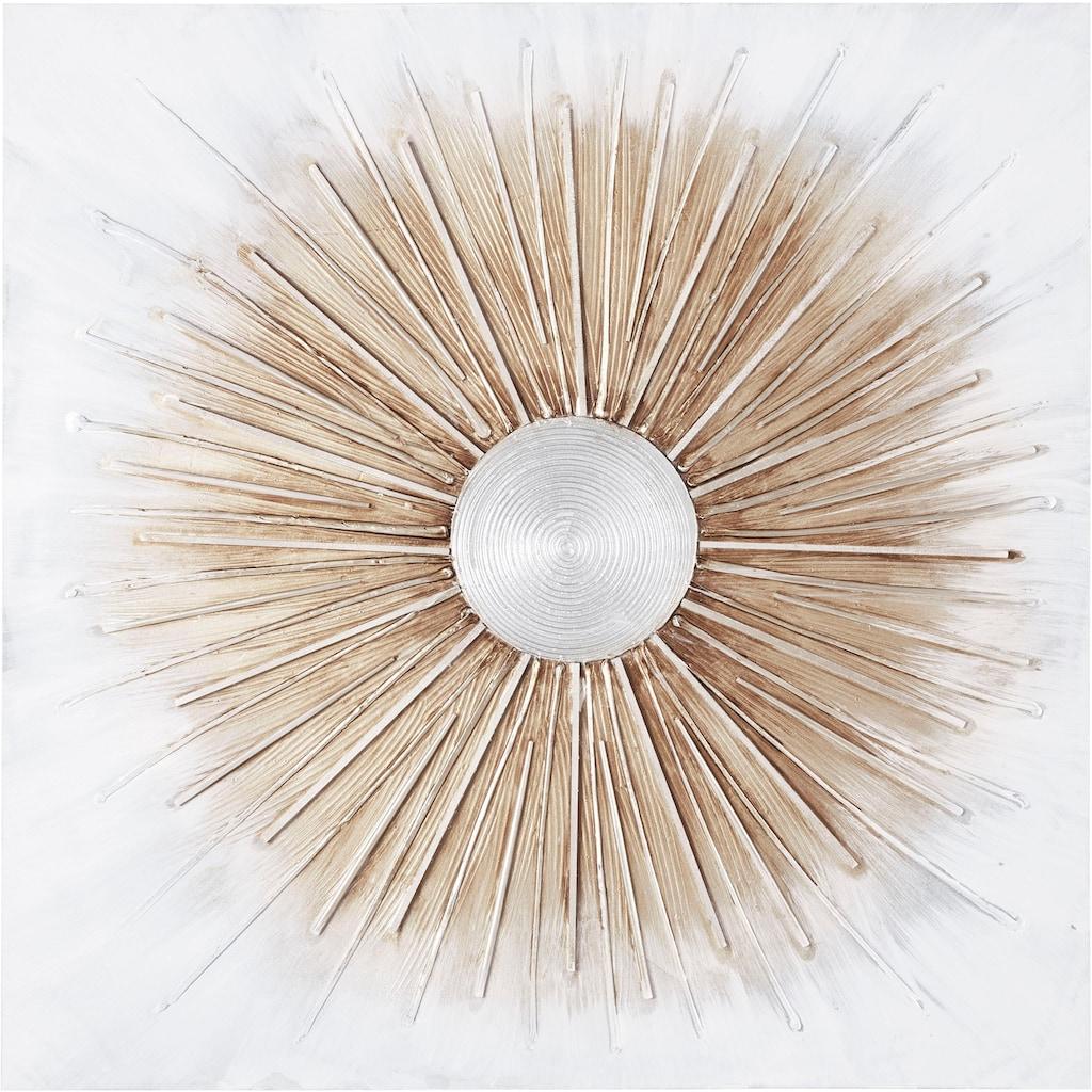 Spiegelprofi GmbH Ölgemälde »Shine«, 100/100 cm, handgemalt