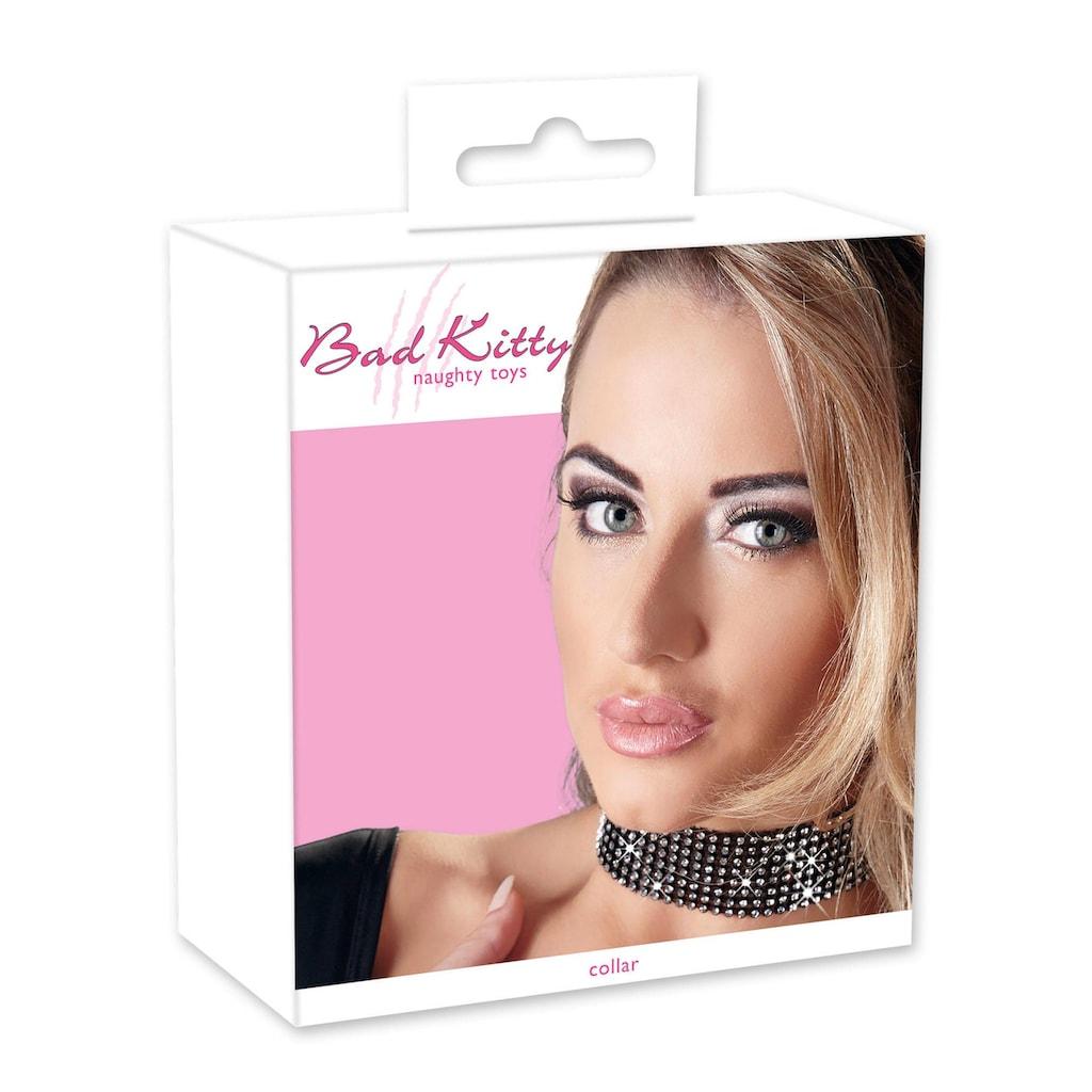 Bad Kitty Erotik-Halsband, mit Strasselementen