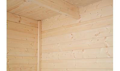 WOLFF FINNHAUS Gartenhaus »Relax Lounge C«, BxT: 356x375 cm, inkl. Fußboden kaufen