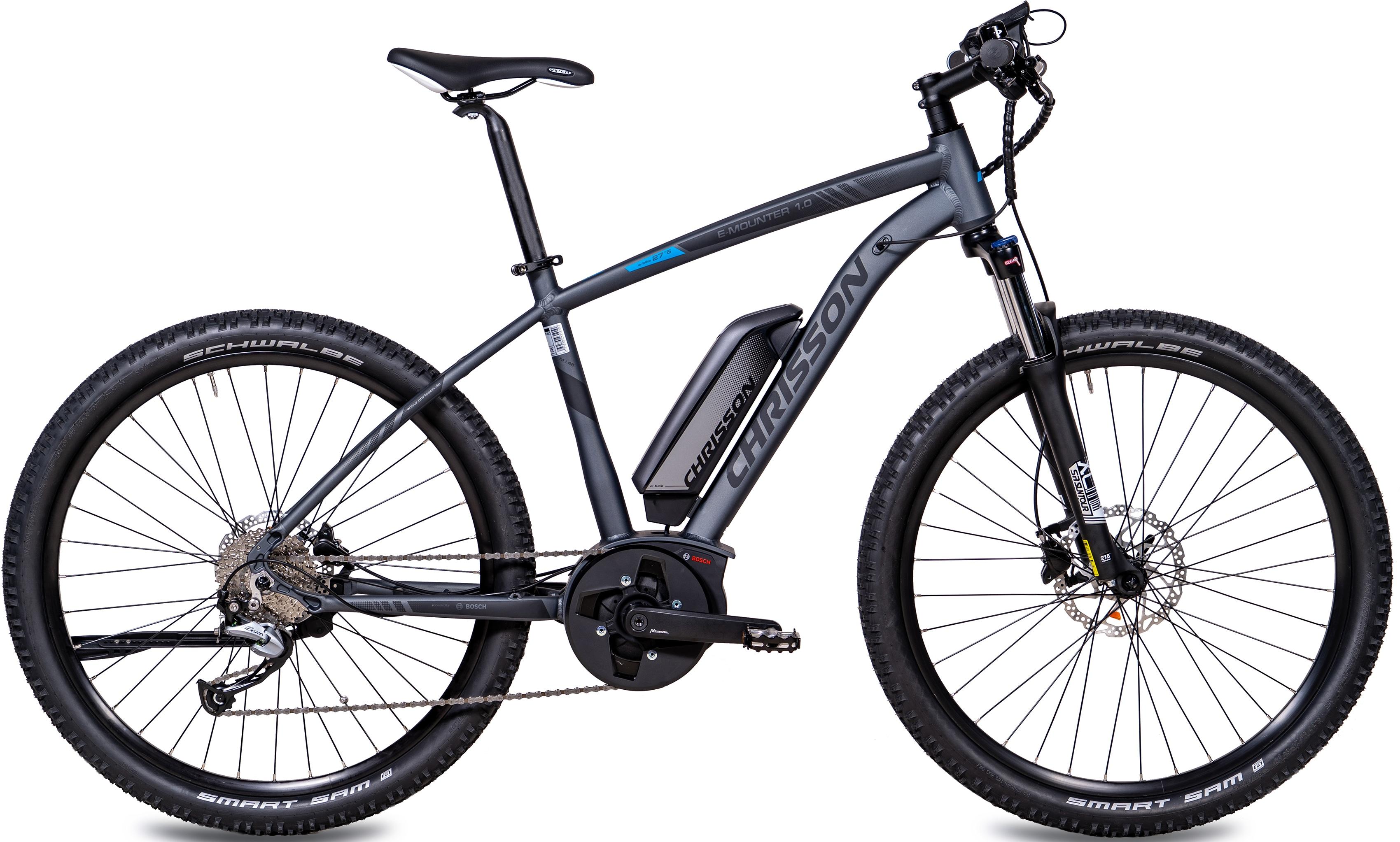 chrisson e bike e mounter 10 9 gang shimano acera rd m3000 sgs mittelmotor 250 w - Throttle me - Halte mich , Sieben Verlag