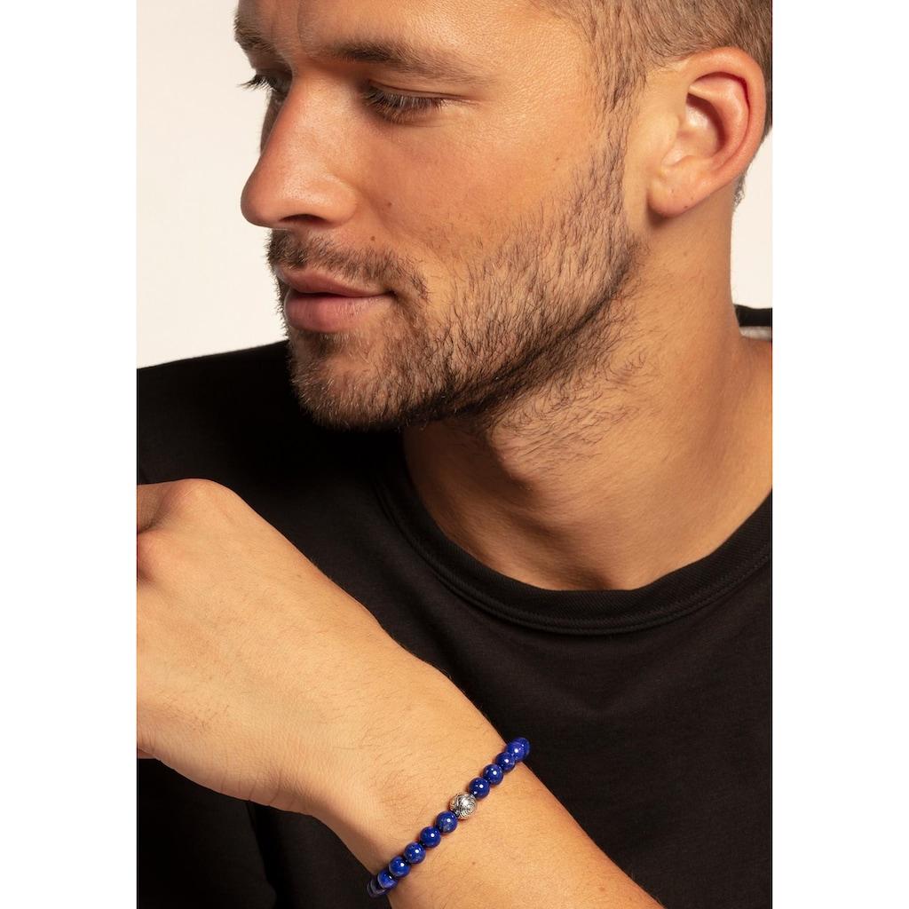 THOMAS SABO Armband »A1779-535-1-L22v, Ethno blau«, mit imit. Lapislazuli