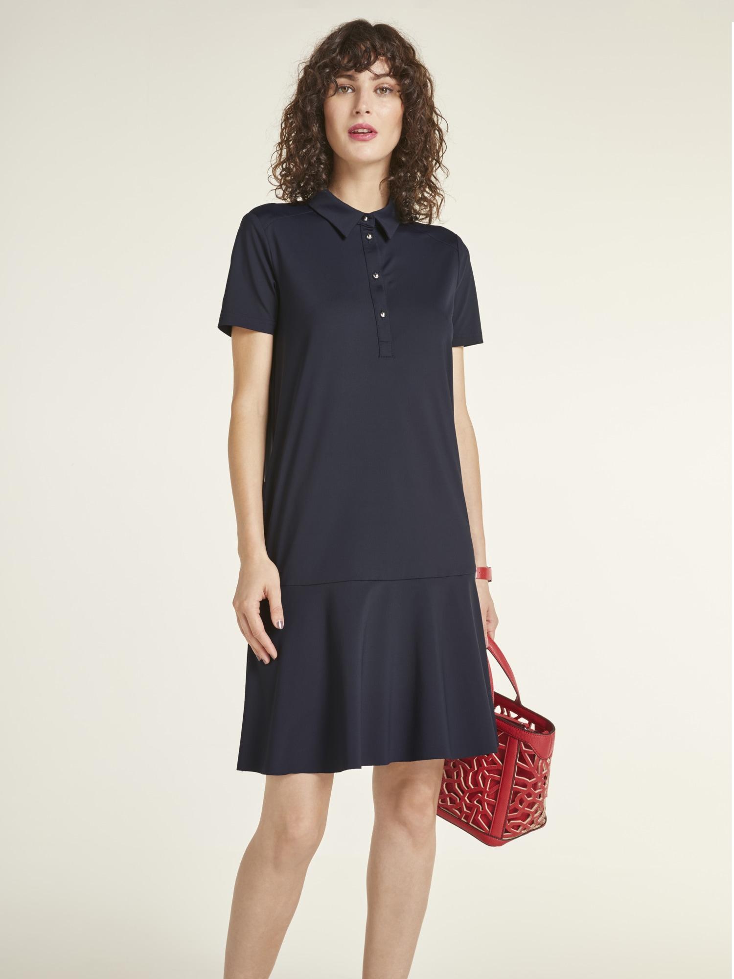 heine TIMELESS Kleid im Polo-Look