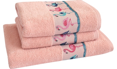 Handtuch Set, »Flamingos«, Dyckhoff kaufen