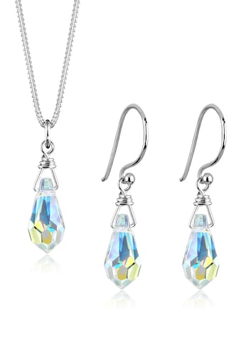 Elli Schmuckset »Drop Swarovski® Kristalle 925 Sterling Silber« kaufen