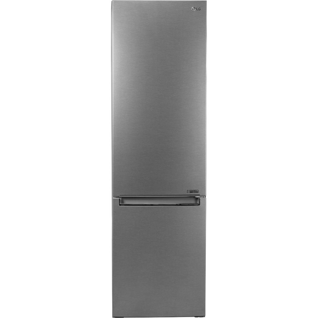 LG Kühl-/Gefrierkombination »GBP62DSNXN«, Serie 6, GBP62DSNXN, 203 cm hoch, 59,5 cm breit