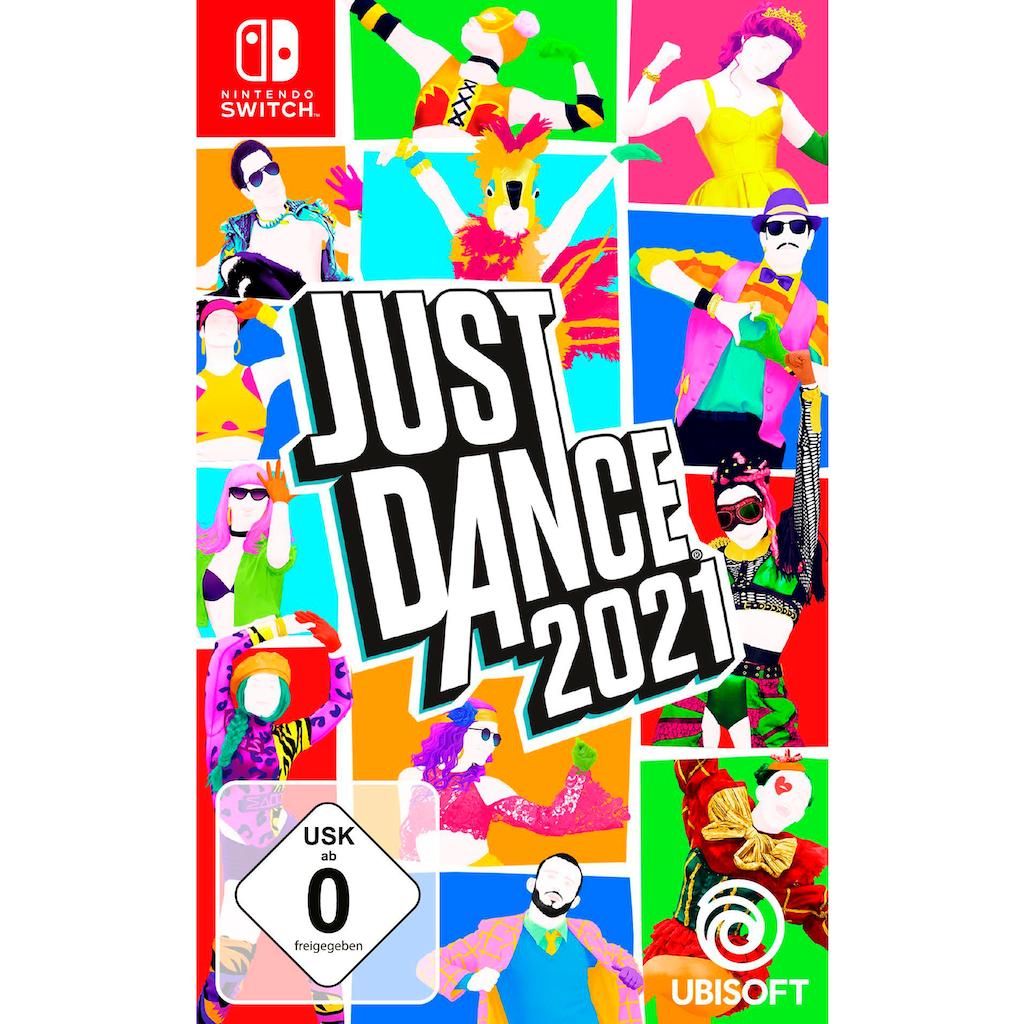 Nintendo Switch Konsolen-Set, inkl. Just Dance 2021
