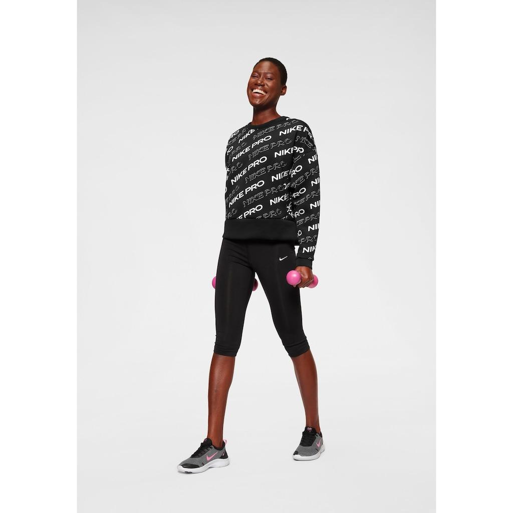 Nike Sweatshirt »Nike Pro Women's Fleece Crew«