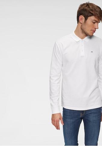 TOMMY JEANS Langarm - Poloshirt »TJM ESSENTIAL LS POLO« kaufen