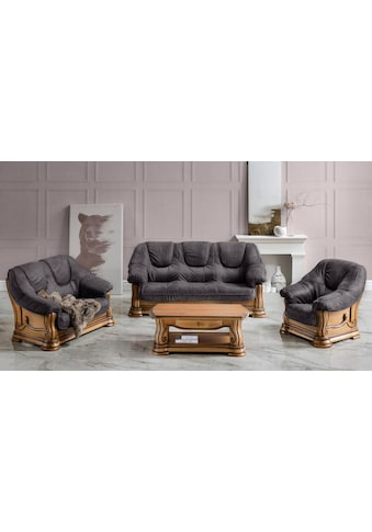 Premium collection by Home affaire Polstergarnitur »Grizzly« (Set, 3 - tlg) kaufen