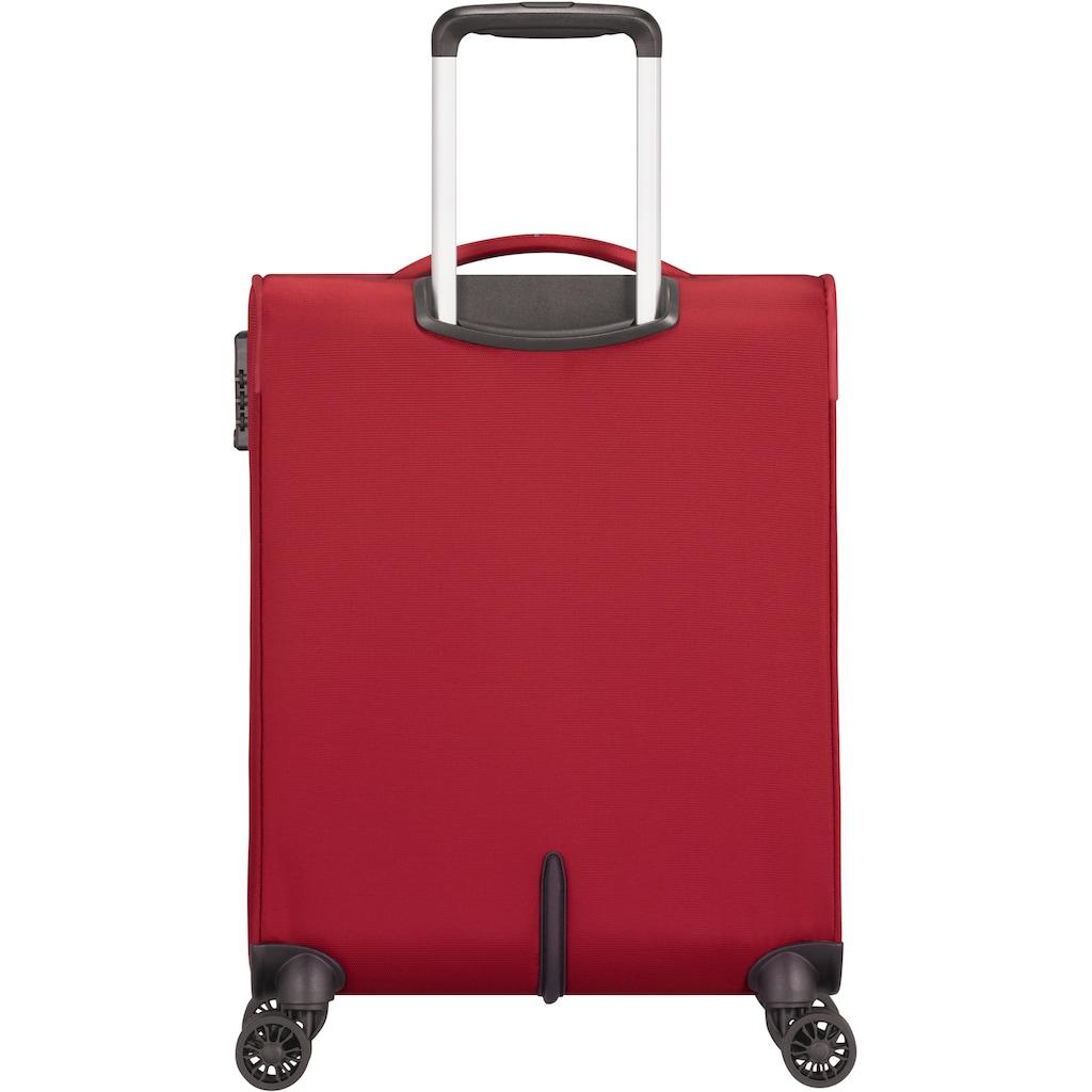 American Tourister® Weichgepäck-Trolley »Crosstrack, 55 cm«, 4 Rollen