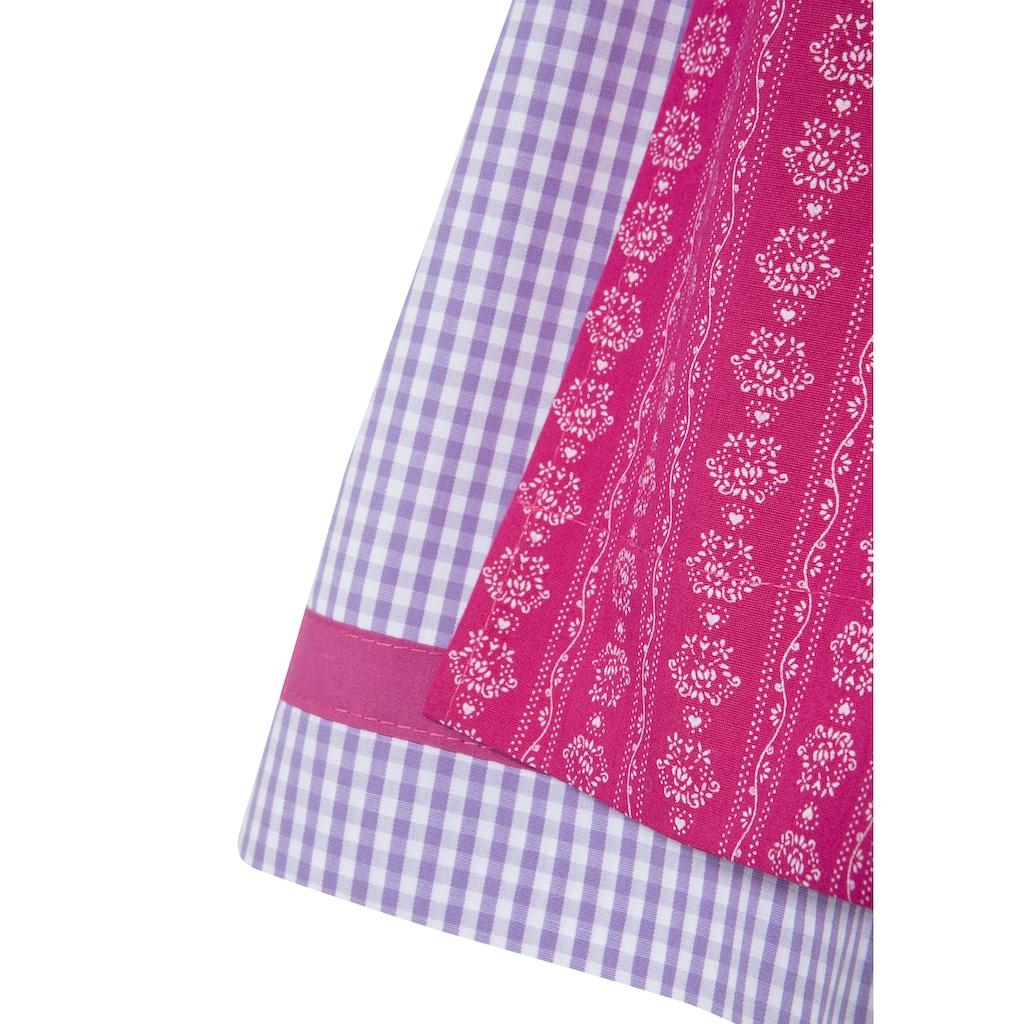 Isar-Trachten Dirndl, mit traditionellem Muster