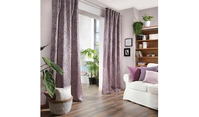 Neutex for you! Vorhang »Salvia«, filigrane Blattmusterung mit Farbeffekt kaufen