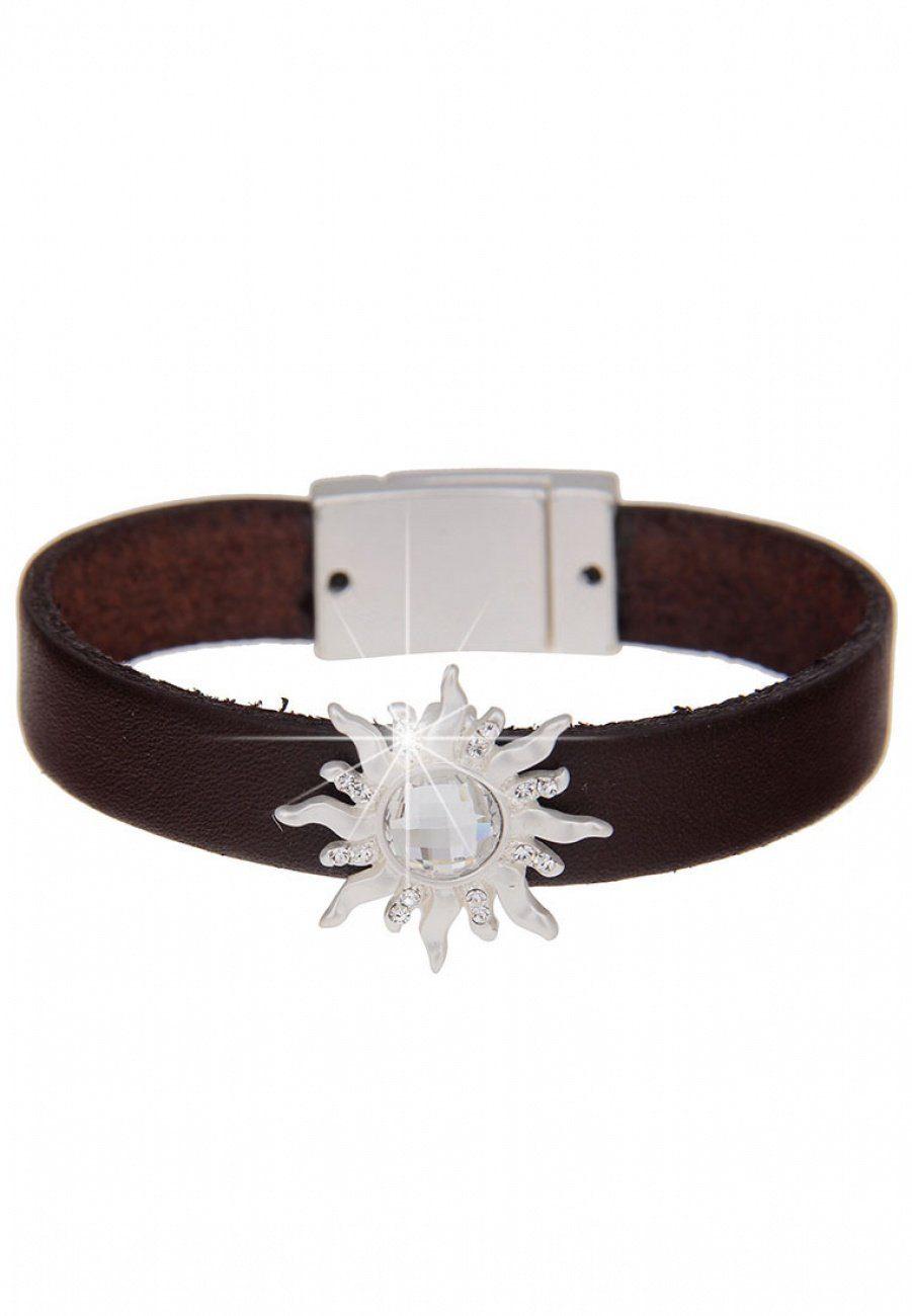 leslii Armband, mit Sonnen-Element braun Damen Armband Armbänder Schmuck 4250980327031