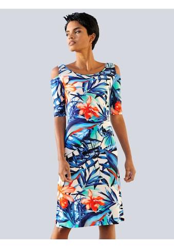 Alba Moda Strandkleid im Cold - Shoulder - Style kaufen