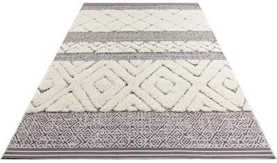 MINT RUGS Teppich »Todra«, rechteckig, 22 mm Höhe, In- und Outdoor geeignet,... kaufen