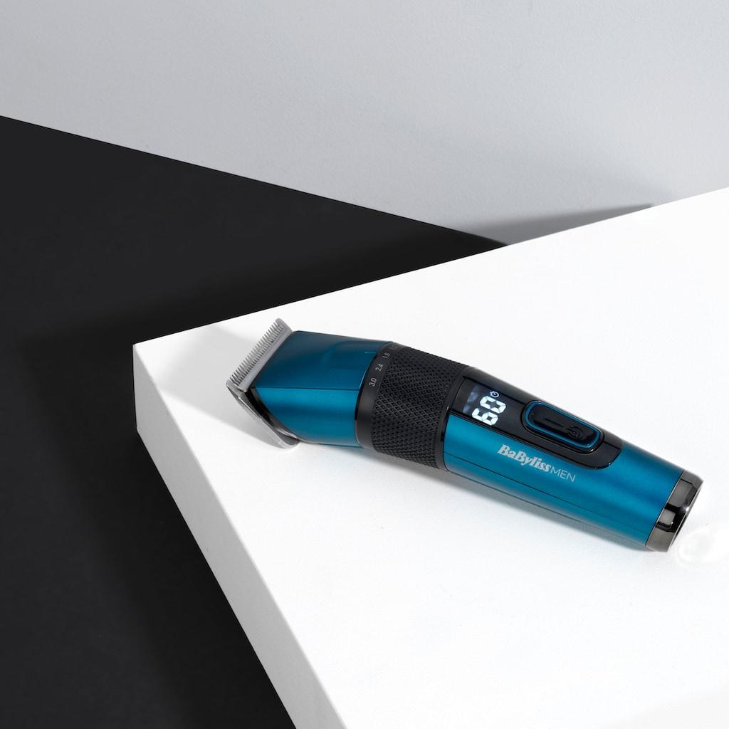 BaByliss Haarschneider »E990E MEN Japanese Steel«, 8 Aufsätze, mit digitaler Anzeige