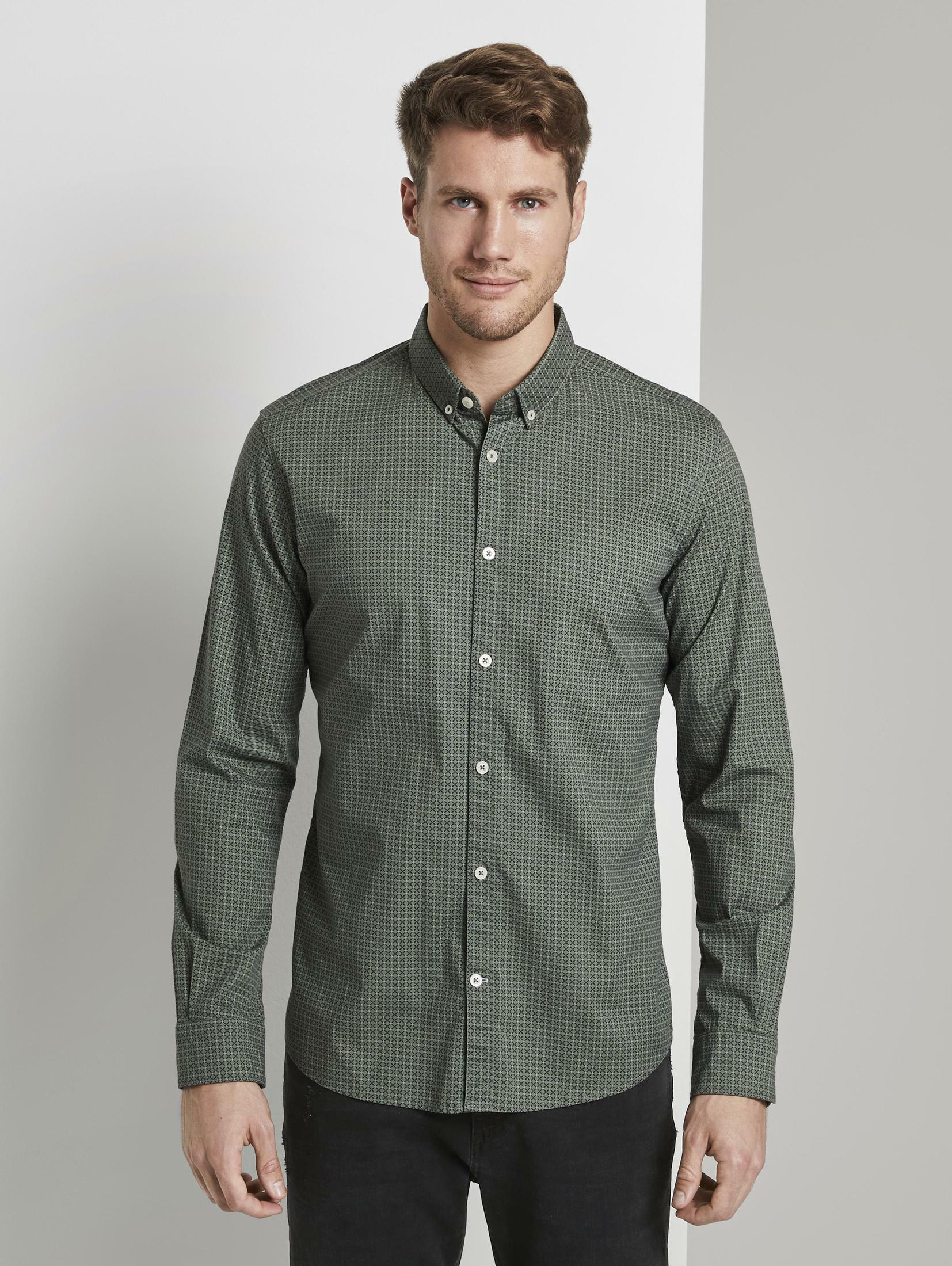 TOM TAILOR Outdoorhemd Gemustertes Hemd | Bekleidung > Hemden > Freizeithemden | Tom Tailor