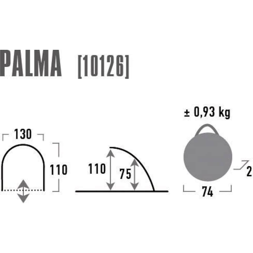 High Peak Strandmuschel »Palma«, 2 Personen