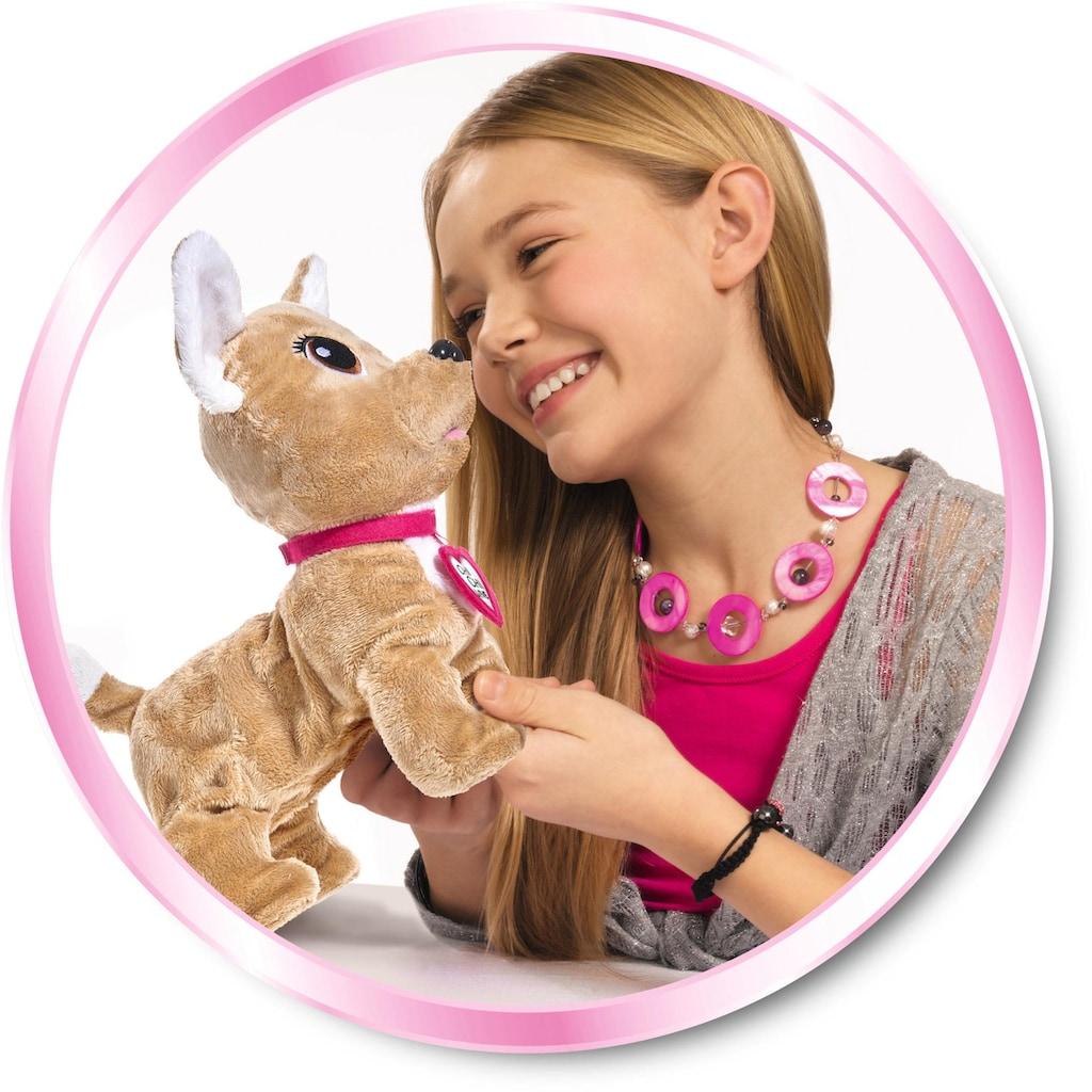 SIMBA Kuscheltier »Chi Chi Love, Chihuahua Plüschhund Happy«, mit Funktion