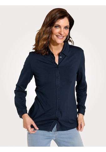 Mona Hemdbluse, mit angesetzter Knopfleiste kaufen