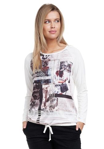 Decay Langarmshirt, mit modischem Frontprint kaufen