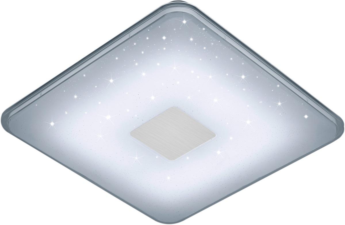 TRIO Leuchten LED Deckenleuchte SAMURAI, LED-Board, Neutralweiß-Tageslichtweiß-Warmweiß-Kaltweiß, LED Deckenlampe