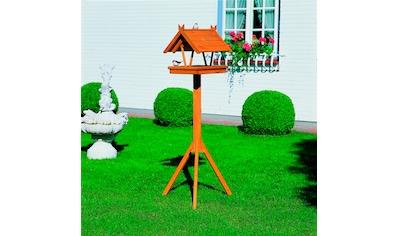PROMADINO Set: Vogelhaus »Rhön«, mit Standbein, B/T/H: 36/41,5/141 cm kaufen