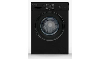 Telefunken Waschmaschine Frontlader (5 kg / A++ / schwarz) »W - 01 - 50 - B« kaufen