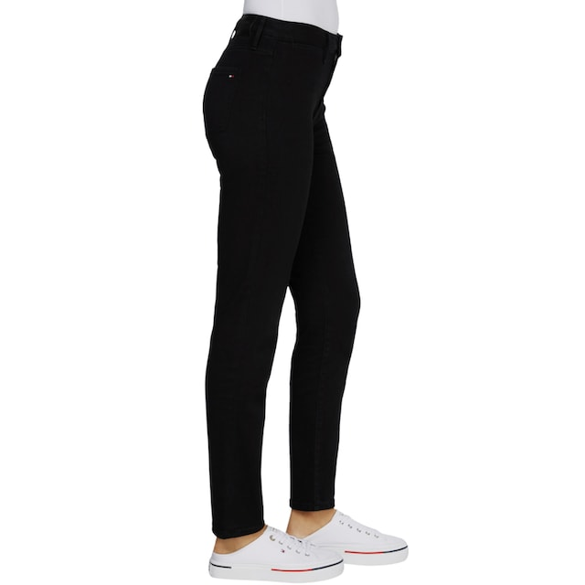 TOMMY HILFIGER Straight-Jeans »RIVERPOINT CIGARETTE HW A BLACK«