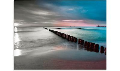 Artland Glasbild »Ostsee mit schönem Sonnenaufgang« kaufen
