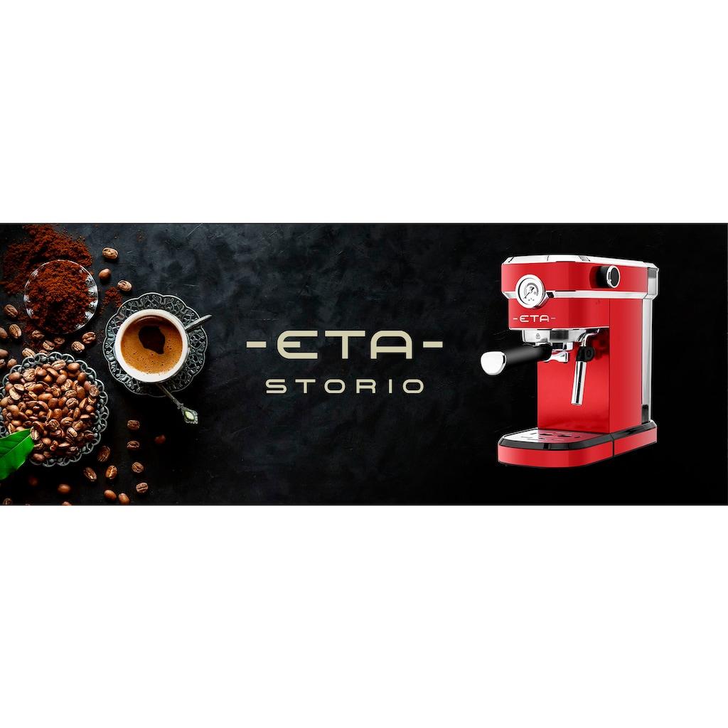 eta Siebträgermaschine »STORIO ETA618190030«, 1350W, max.20 bar, Thermoblock