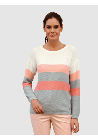 Laura Kent Pullover mit schönen Blockstreifen kaufen