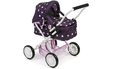 CHIC2000 Puppenwagen »Mini-Kuschelwagen Smarty, Stars lila«, mit herausnehmbarer... kaufen