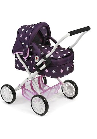 "CHIC2000 Puppenwagen ""Mini - Kuschelwagen Smarty, Stars lila"" kaufen"