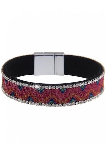 leslii Armband mit stylischen Strass-Steinchen kaufen