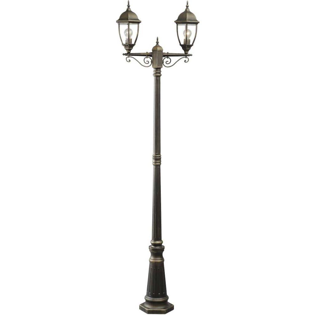 DeMarkt Außen-Stehlampe »Fabur«, E27, 1 St., Tageslichtweiß