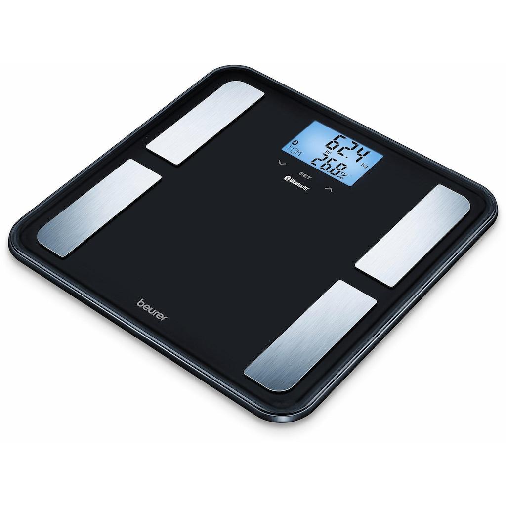 BEURER Körper-Analyse-Waage »BF 850«, innovative Vernetzung zwischen Smartphone und Waage
