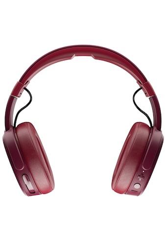 Skullcandy Headset »CRUSHER Wireless OVER - EAR W/MIC 1 Moab/Red/Black« kaufen