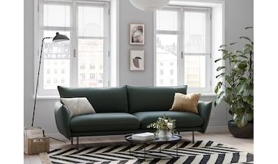 andas 3-Sitzer »Stine«, Besonderes Design durch Kissenoptik und Keder, Design by... kaufen