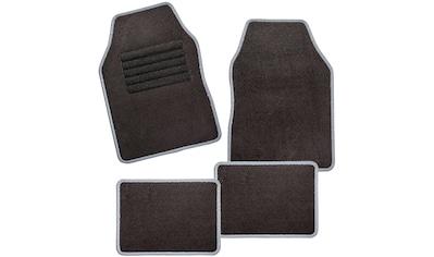CarFashion Universal-Fußmatten »Misano«, Kombi/PKW, (Set, 4 St.), mit Glanzgarn kaufen