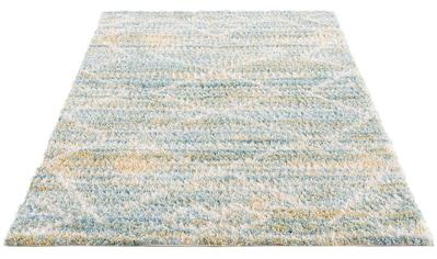 Carpet City Hochflor-Teppich »Pulpy 557«, rechteckig, 30 mm Höhe, Wohnzimmer kaufen
