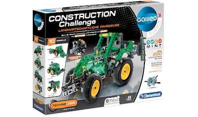Clementoni® Experimentierkasten »Galileo Technologic Construction Challenge,... kaufen