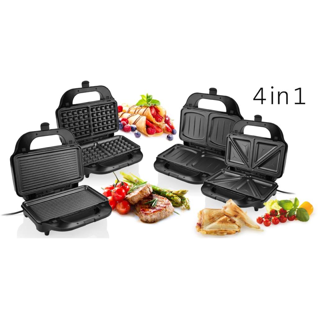 eta 4-in-1-Sandwichmaker »SORENTO ETA315190010«, 900 W