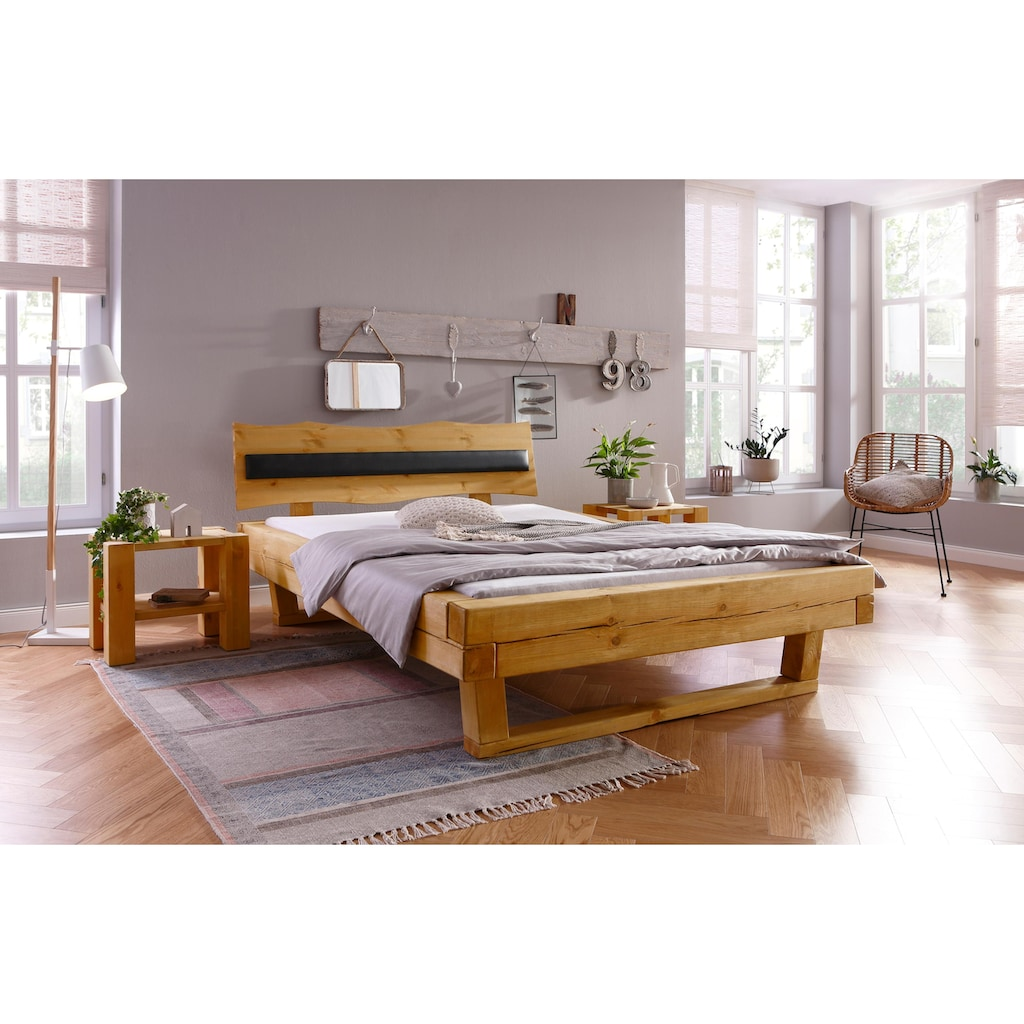 Home affaire Kopfteil »Volme«, passend für das Bett Volme, in geschwungener Form
