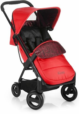iCoo Kinder-Buggy »Acrobat Fishbone Red«, mit leichtem und stylischem Aluminiumgestell kaufen